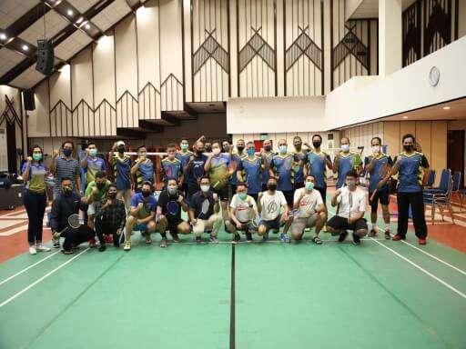 Jalin Kebersamaan, BP Batam dan Bank Mandiri Gelar Pertandingan Persahabatan Bulu Tangkis-01
