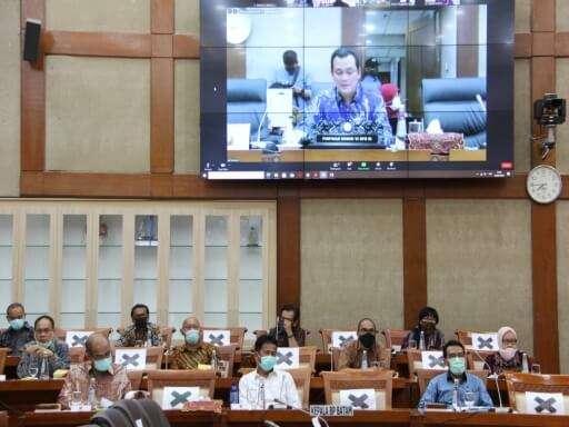 Kepala BP Batam Muhammad Rudi Paparkan Kinerja BP Batam di Komisi VI DPR RI-04
