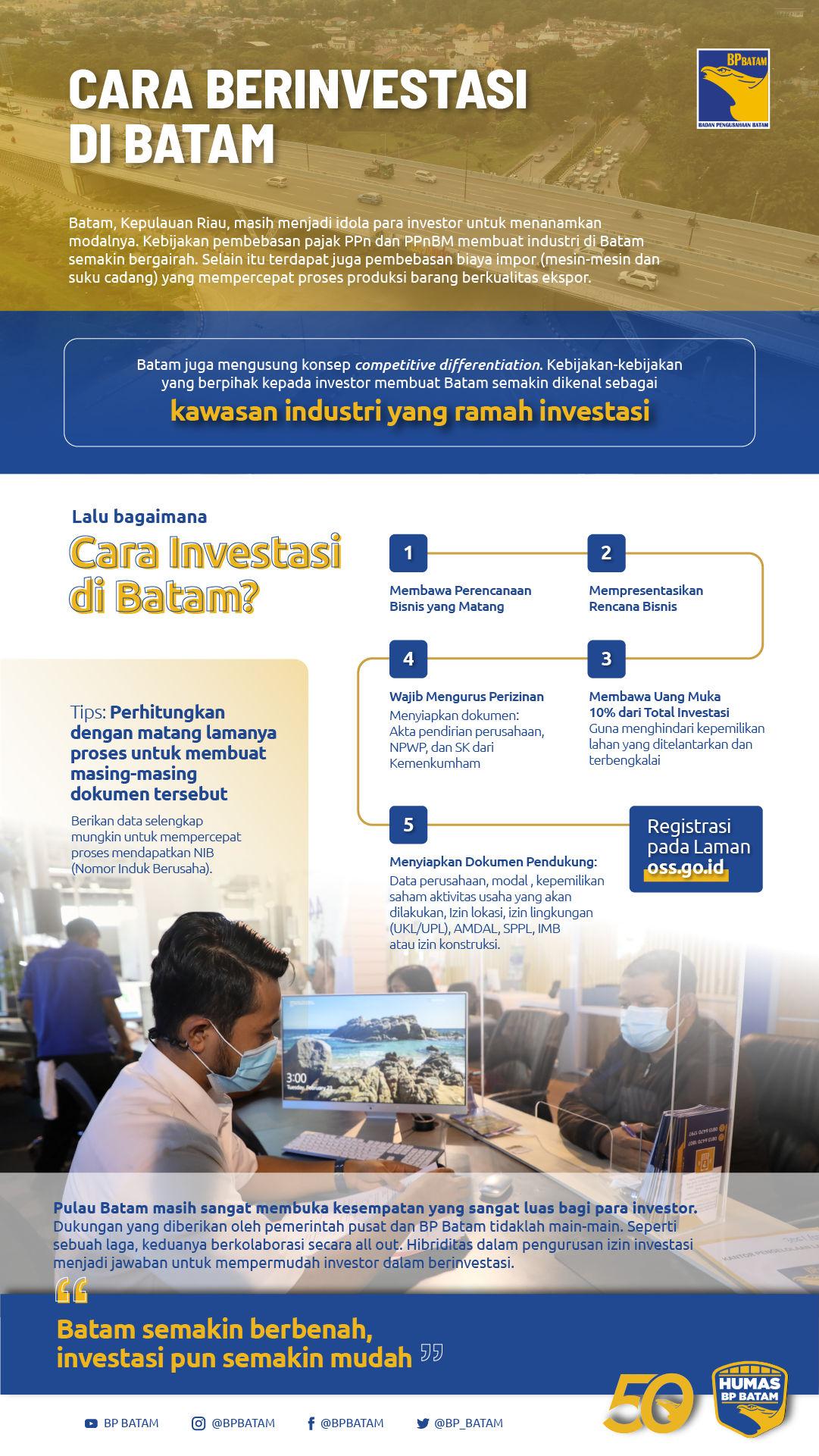 Cara Investasi di Batam, Syarat dan Dokumen Pendukungnya
