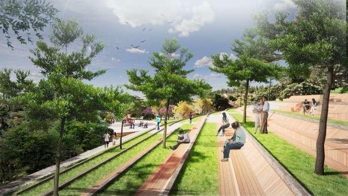 Amphitheater - Kawasan Taman Rusa Sekupang
