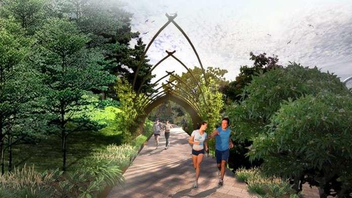 Jogging Track - Kawasan Taman Rusa Sekupang