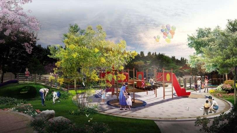 Playground - Kawasan Taman Rusa Sekupang