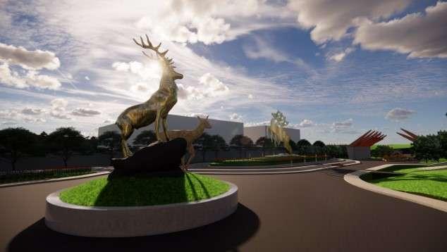 Sculpture 2 - Taman Rusa Sekupang